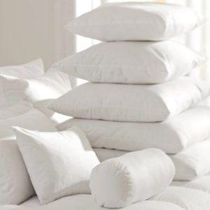 ❤️ NEW ❤️ Pottery Barn Lumbar Pillow White Insert